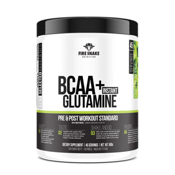 FireSnake BCAA + Glutamine 500g