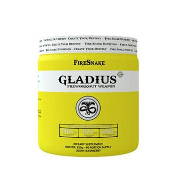 FireSnake Gladius (Pre Workout) 320g - rasberry